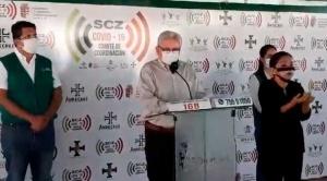 Gobernador Costas pide más respiradores y plantea directrices para el desconfinamiento