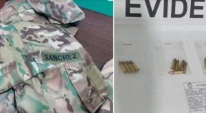 Detienen a falso militar que transportaba munición y Gobierno denuncia plan de subversión