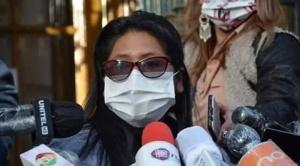 Senadora del MAS  Eva Copa acusa al gobierno de gestar un autogolpe de Estado
