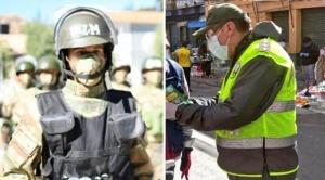 En más de dos meses de cuarentena, siete policías y un militar fallecieron a causa del Covid-19 1