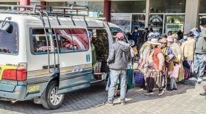 La Paz: Sedes advierte más casos de Covid-19 porque transporte no cumple medidas de bioseguridad 1