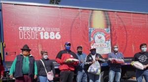 Amaszonas, CBN y Farmacorp trasladarán más de 20 toneladas de alimentos y medicamentos a Beni 1