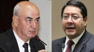"""Parada denuncia que Luis Arce dejó """"un hueco"""" de 18.000 millones de bolivianos en el TGN"""