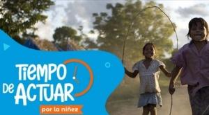 """Unicef y Red Uno se unen para recaudar 1 millón de bolivianos en la campaña """"Tiempo de actuar"""""""