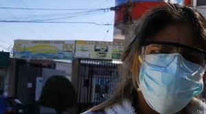 Cochabamba: Enfermera que dio positivo a COVID-19 no consigue apoyo en ningún hospital