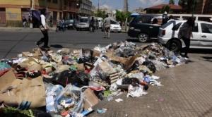 Nuevo bloqueo en el botadero de Cochabamba, ahora son los trabajadores