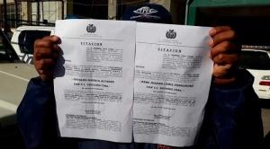 Dirigentes aprehendidos en Cochabamba serán procesados en La Paz a pesar de rechazo de su defensa