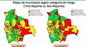 "Índice de Riesgo Municipal reporta que 82 municipios están en ""riesgo alto"", incluidas ocho ciudades capitales"