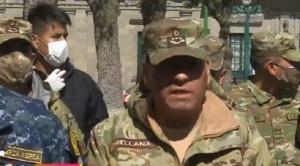 Comandante de las FFAA da positivo para Covid-19 y es internado en hospital de Cossmil