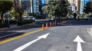 Desde hoy y por un año, la Av. Arce será de doble vía entre plazas Isabel La Católica y del Estudiante