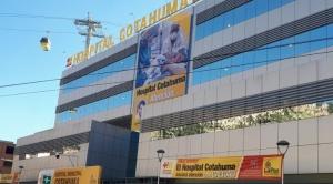 Desde este lunes el hospital de Cotahuma atenderá exclusivamente a pacientes con COVID-19