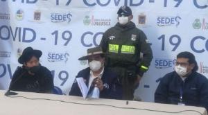 """Gobierno pide que se """"atenga a la normativa"""" al Sedes Chuquisaca que dio aval al dióxido de cloro"""