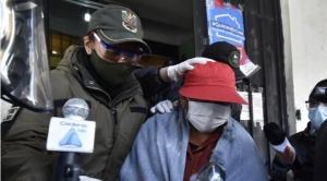 Exministra Achacollo abandona la cárcel de Miraflores 1
