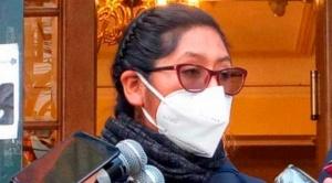 Autoridades se solidarizan con la presidenta del Senado, Eva Copa tras confirmarse que tiene COVID-19