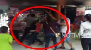 Vecinos de la calle 6 de Los Pinos denuncian que familiares de un policía protagonizaron gresca en plena cuarentena