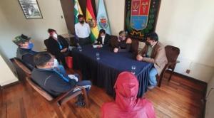 Cochabamba pide declaratoria de desastre por la pandemia del COVID-19