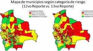 Hay un repunte de municipios con riesgo alto de contagio de COVID-19; La Paz está entre los 10 primeros