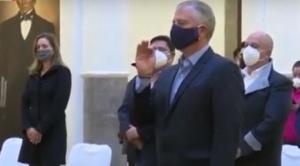 Añez posesiona a Branko Marinkovic como nuevo ministro de Planificación del Desarrollo