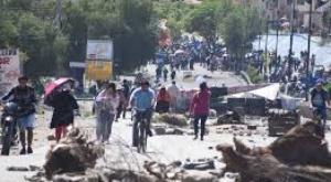 El bloqueo de caminos deja una pérdida de Bs 700 millones en el país