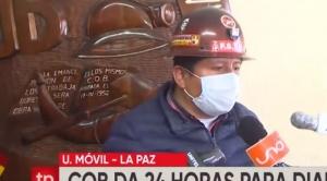 """Huarachi pide elecciones para el 11 de octubre y admite que """"no hay mucha diferencia"""" con el 18"""