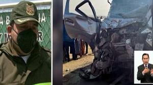 Accidente de tránsito en la carretera a Desaguadero deja 7 muertos