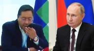 Arce habla con Putin sobre el contrato de las vacunas Sputnik