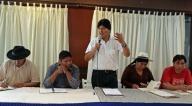 Reunión del MAS en Buenos Aires eligió al binomio Arce-Choquehuanca para las elecciones
