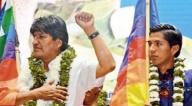 En un solo día, Andrónico Rodríguez recibió al menos tres bofetadas de Evo Morales