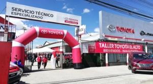 Toyosa abre en El Alto su taller de servicio técnico más moderno del país