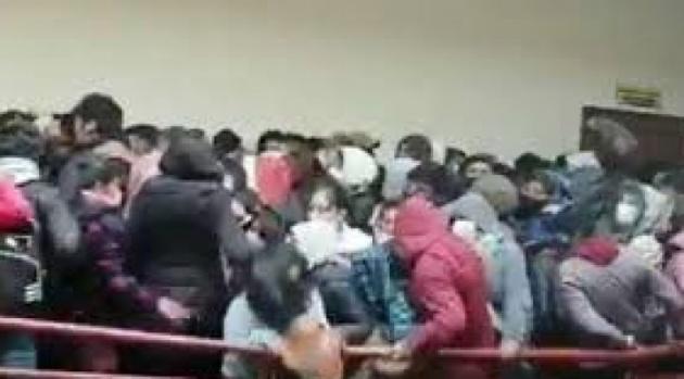 La Justicia manda a la cárcel a siete dirigentes universitarios de la UPEA